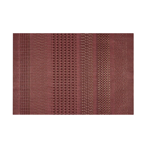 Now Designs Cadence Placemat in CRIMSON