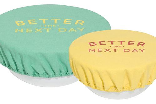 Now Designs Bowl cover Set in BETTER THE NEXT DAY