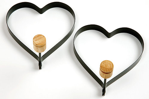 Norpro Heart Pancake/Egg Rings 2pc
