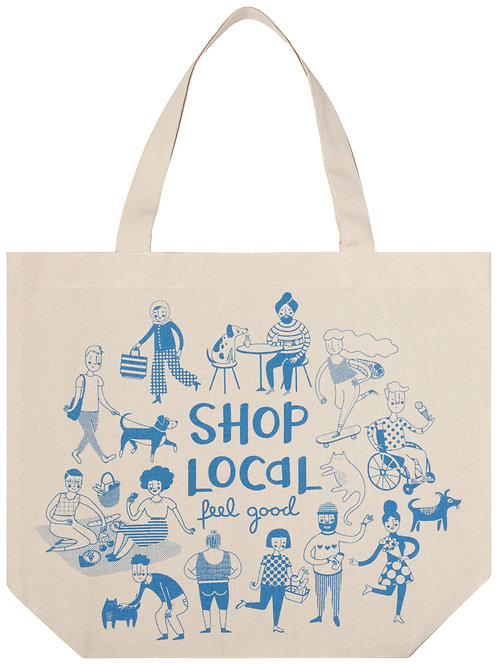 Now Designs Shop Local Tote Bag