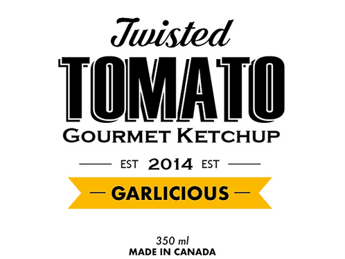 Twisted Tomato Ketchup GARLICIOUS
