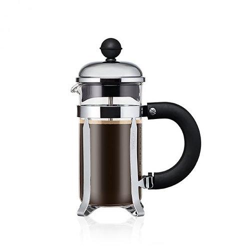 BODUM CHAMBORD® coffee press w/santoprene handle & knob, 3 cup, 0.35 l, 12 oz
