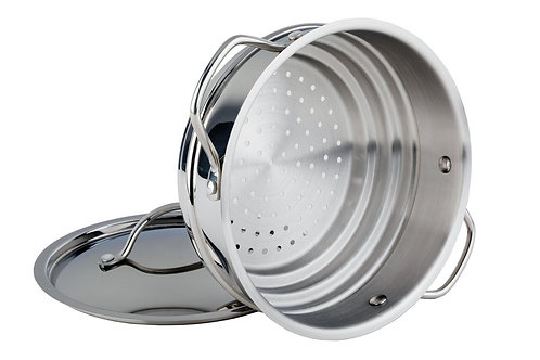 Meyer Classic Stainless Steel Steamer Insert 2.7L