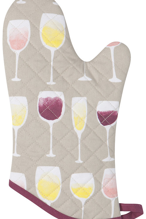 Now Designs Wine Tasting Oven Mitt