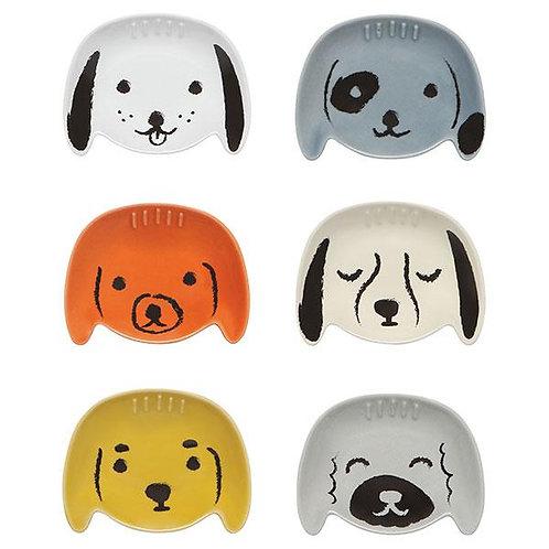 Now Designs Puppy love Pinch Bowls Set of6
