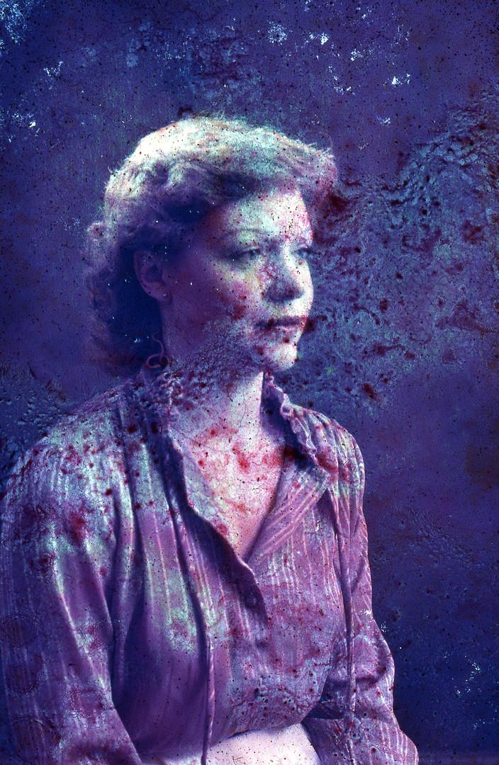 Purple Portrait 1