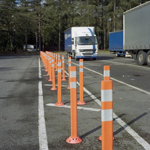 Orange Poles