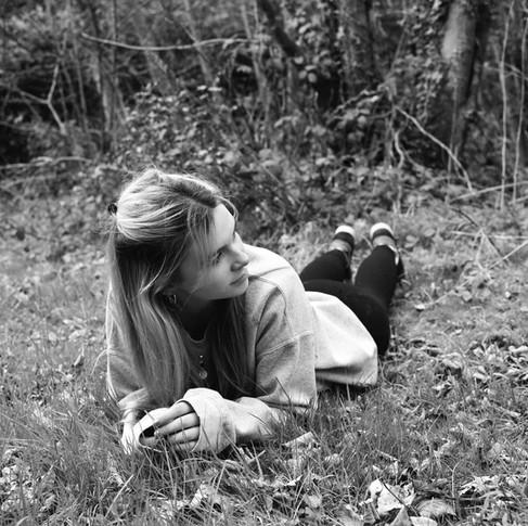 Evie Black & White #2