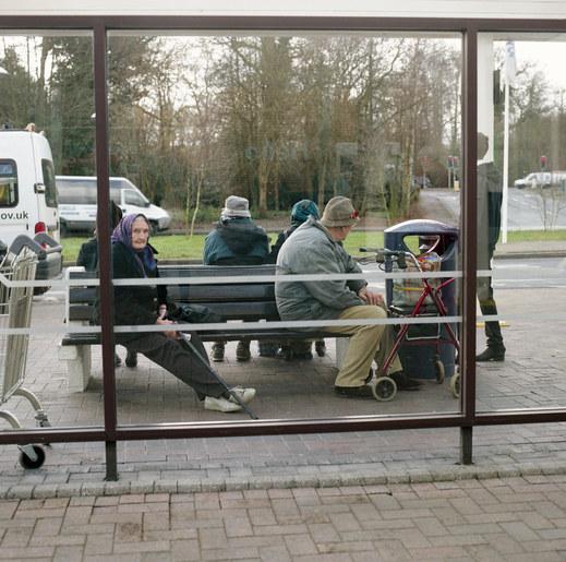 Tescos Bus Stop