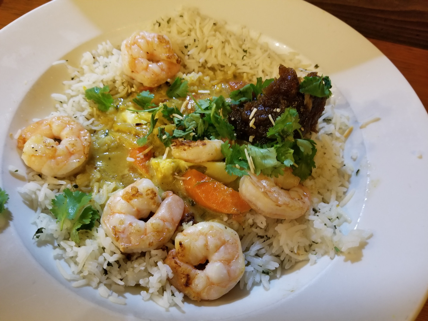 Coconut Curry Dinner