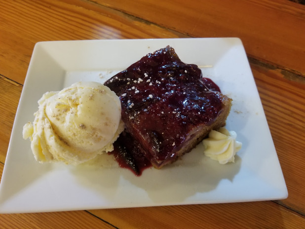Local Plum Upside Down Cake Special
