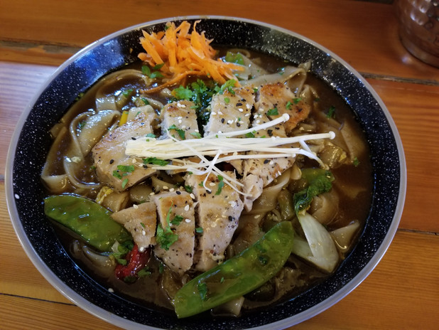 Yellow Fin Tuna Noodle Bowl