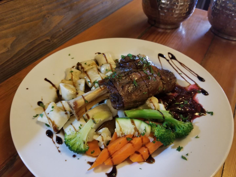 Lamb shank Dinner Special