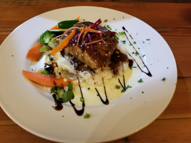 Teriyaki Tuna Steak