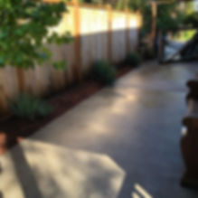 Some pressure washing projects from this