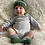 Thumbnail: Green and Silver Baby Booties