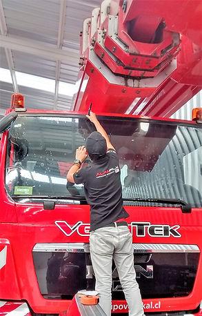 Instalación camiones