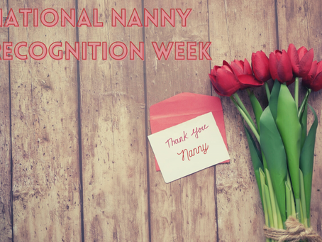 The Best Ideas for National Nanny Recognition Week that Your Nanny Will Love