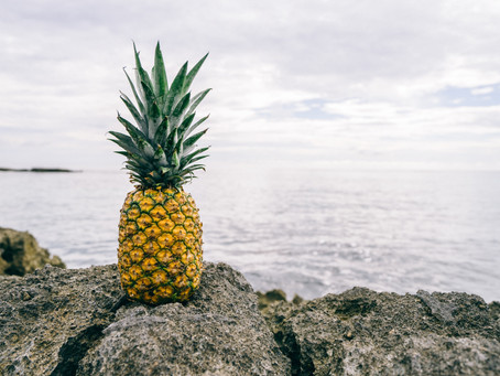 In the world full of apples be a PINEAPPLE