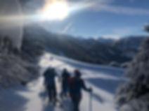 ski de randonnée champsaur