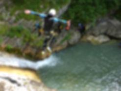 Canyoning rabou