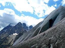 ecole de glace glacier blanc