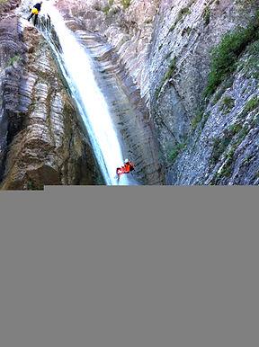 la Blache canyoning