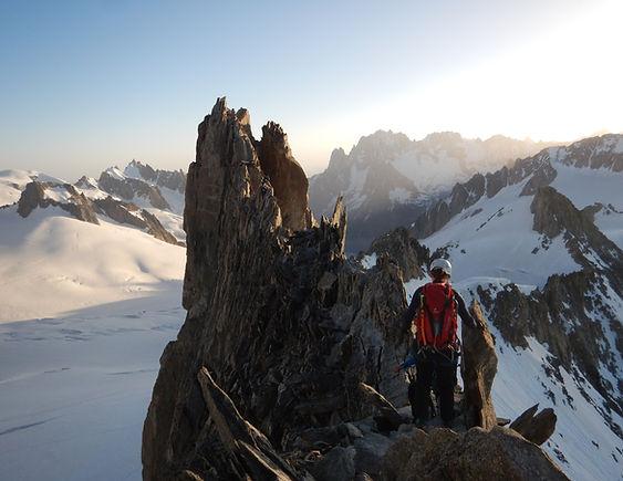 aiguille d'entrèves alpinisme