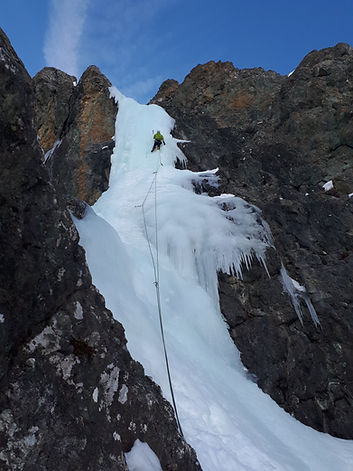 initiation Cascade-de-glace-Queyras hautes alpes