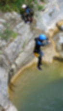 Couleau canyoning