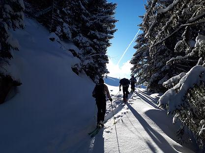 ski de randonnée Dévoluy