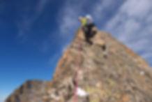 olan breche escarra alpinisme