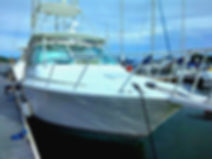 Our flagship, Dream On 35' Cabo Express