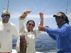 Married Couple fishing