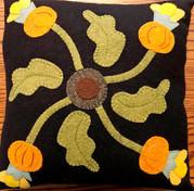 Pumpkin Vine Pillow