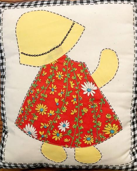 Pillow #1 for Sunbonnet Sue