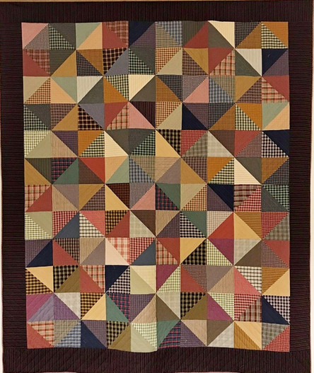 Quilt: Hired Man's Quilt