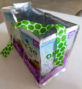 Juice box bag