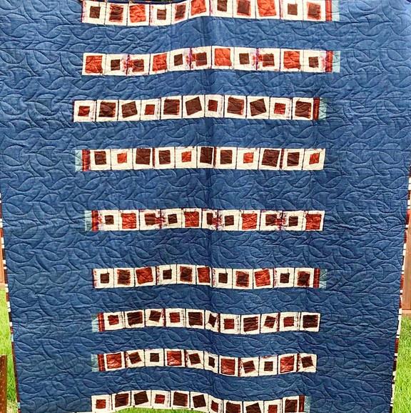 Blue Jean Row Quilt
