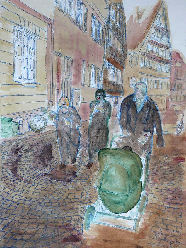 Strawling through Tübingen_tanriverdi