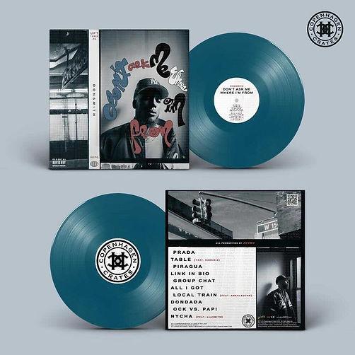 donSMITH Vinyl BLUE