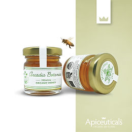 Arcadia Botanica - ORGANIC HONEY 50gr