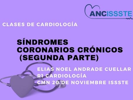 SÍNDROMES CORONARIOS CRÓNICOS (SEGUNDA PARTE)