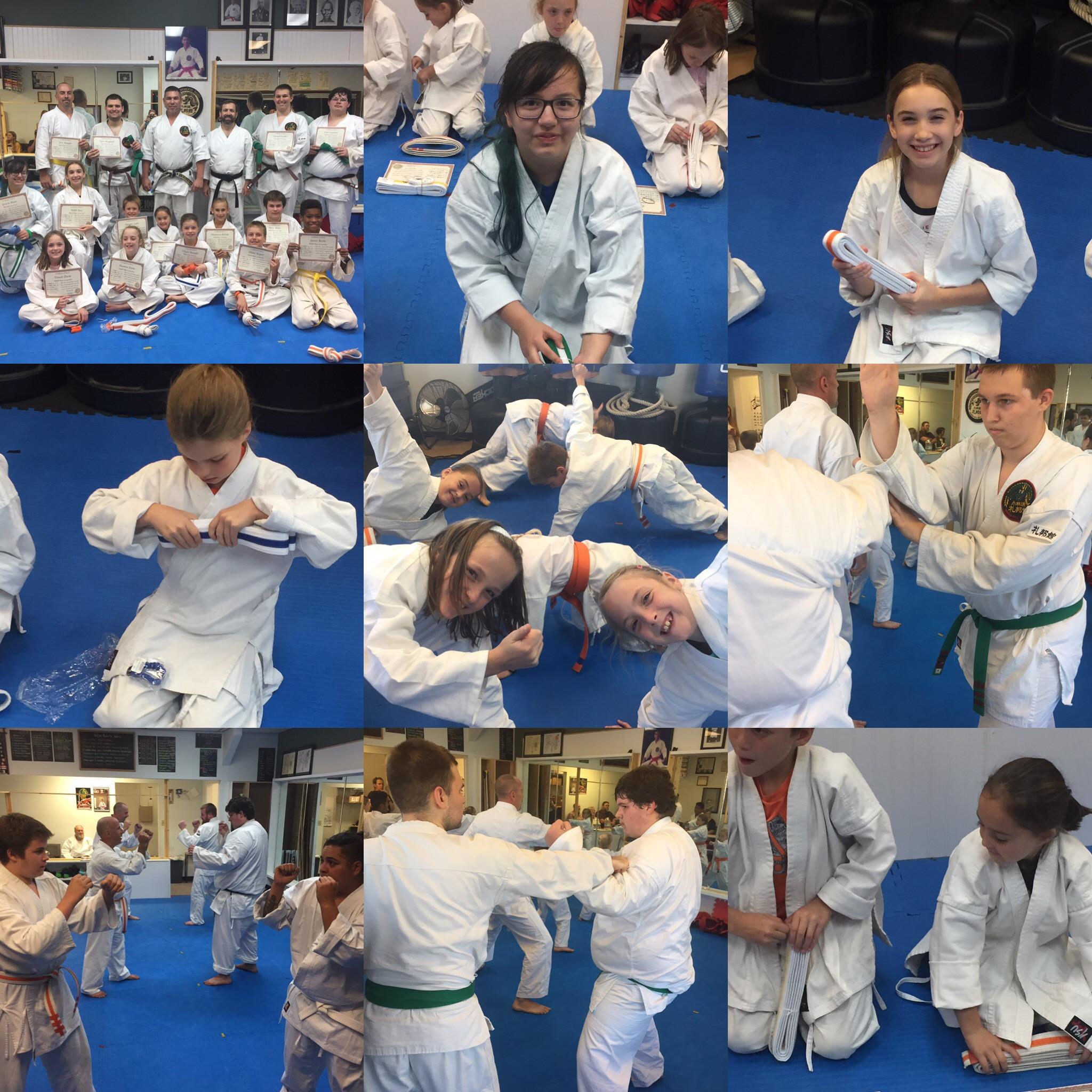 Tweens and Teens Karate