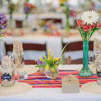 Rustic Wedding Table!