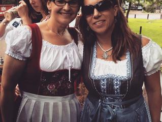 GERMAN ATTIRE:  Frankenmuth locals look the part
