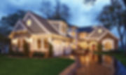 beautiful home lighting, house lighting, gorgeous house, outdoor lighting