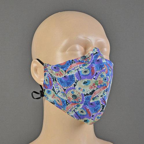 lightweight 100% cotton fabric face masks