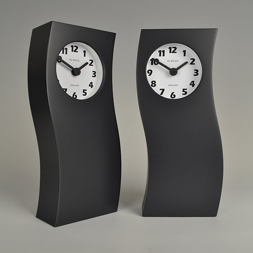 Inhouseclocks - tall wave mantel clock handmade in England
