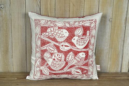 Jill Pargeter - hand printed linen cushions